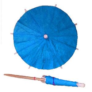 Sky Blue Cocktail Umbrellas