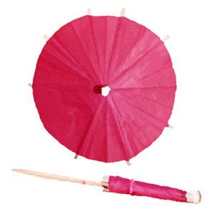 Fireworks Pink Cocktail Umbrellas