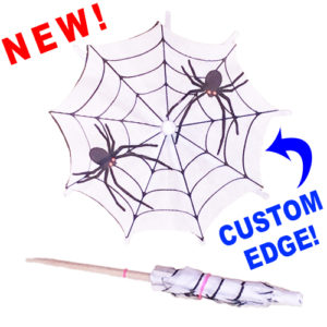 Halloween Spider Cocktail Umbrellas